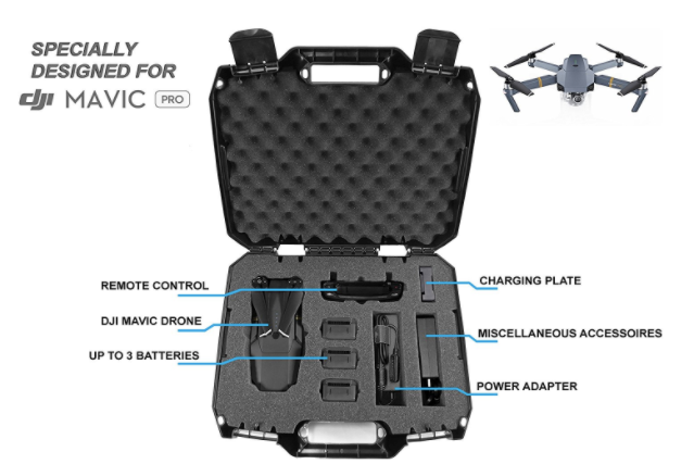 DRONESAFE Rugged DJI Mavic Pro Carry Case